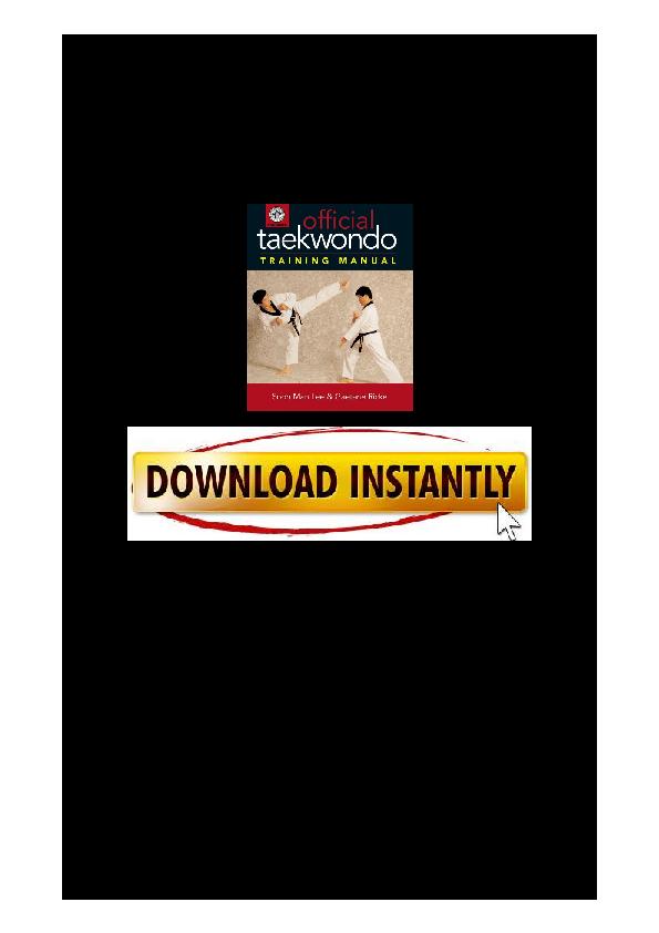 PDF) Official-Taekwondo-Training-Manual pdf | 11140930000080