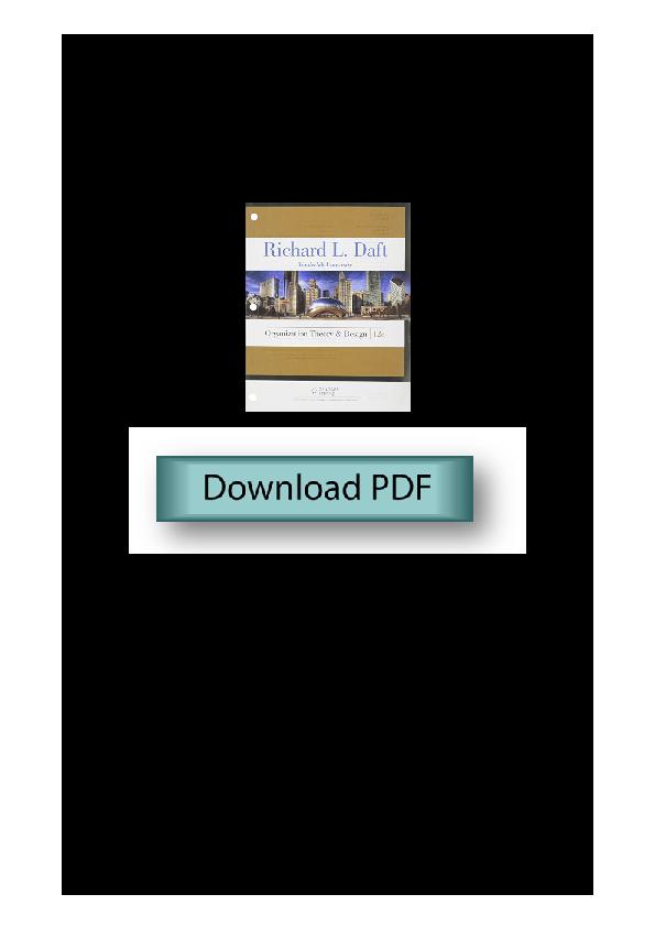 Pdf Organization Theory And Design Pdf 11140930000080 Agra Sena Academia Edu