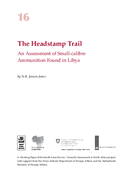 PDF) The Headstamp Trail: An assessment of small-calibre