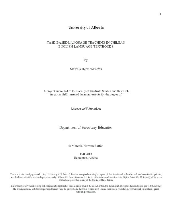 thesis on tblt