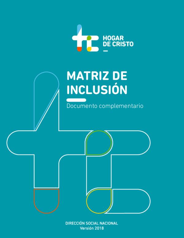 Pdf Matriz De Inclusión 2018 Benjamín Sánchez Cobo