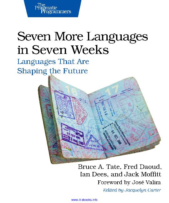PDF) Seven More Languages in Seven Weeks.pdf | L u Trnh ...