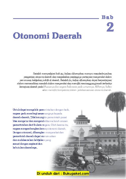 Sebutkan 4 Dampak Positif Pelaksanaan Otonomi Daerah ...