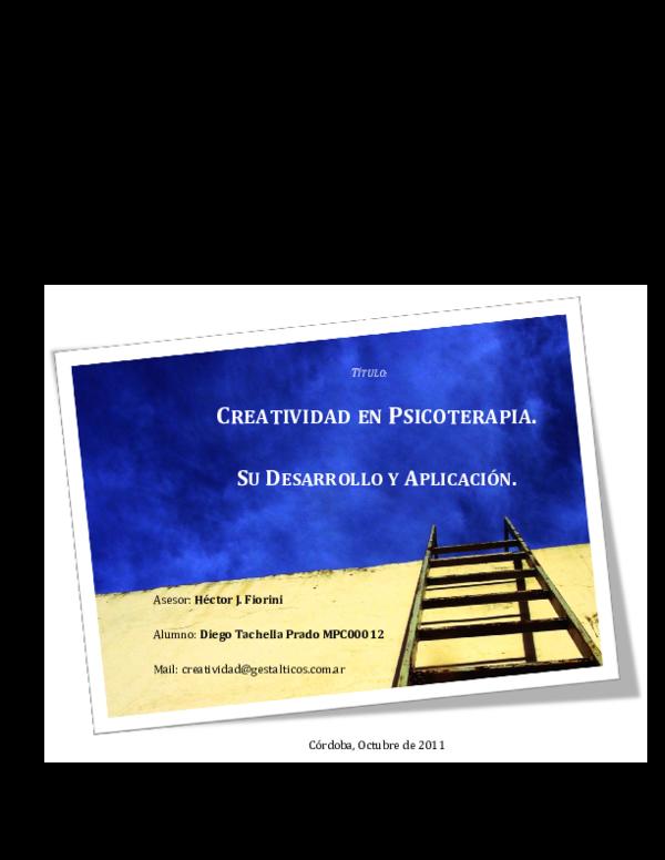 Arte y creatividad: Recursos de amplio espectro Terapéutico y Herramienta Política
