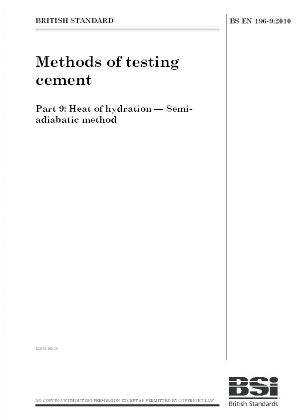 PDF) BS EN 00196-9-2010.pdf   TAHER AMMAR - Academia.edu