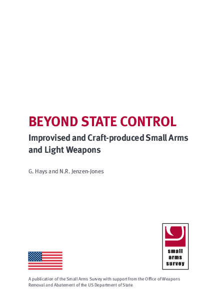 PDF) Beyond State Control: Improvised and Craft-produced Small Arms