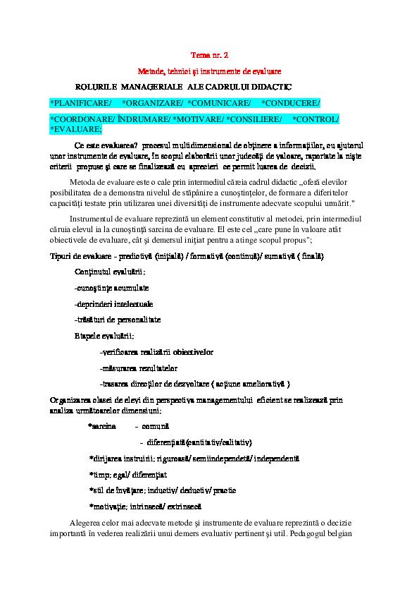 Evaluarea performantelor: criterii, avantaje, pasi de urmat