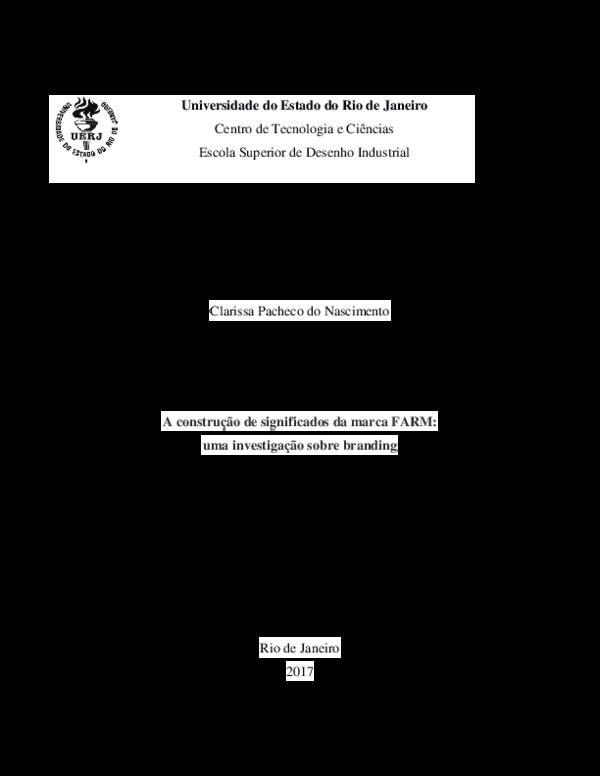 97c5524a6 PDF) A construção de significados da marca FARM  uma investigação ...