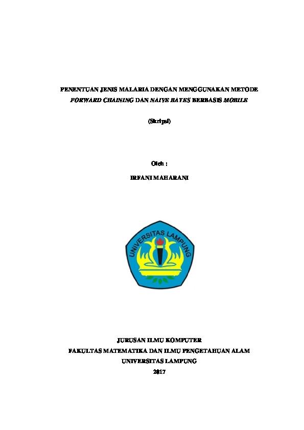 Skripsi Unila 2019 Ide Judul Skripsi Universitas