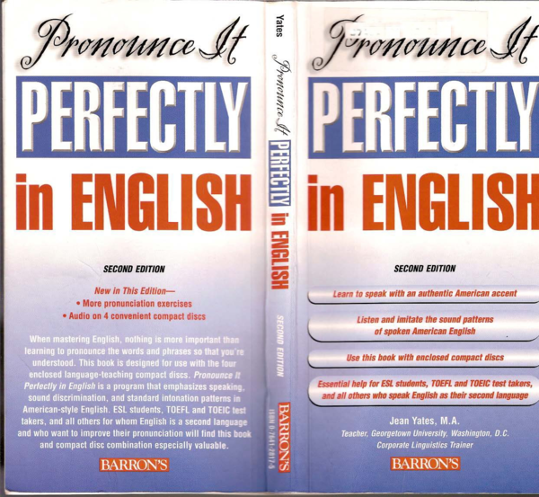 Pdf Pronounce It Perfectly In English Mantesh Lussi Novia