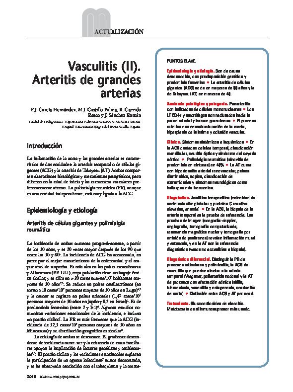 diagnóstico diferencial de arteritis temporal para nefropatía diabética