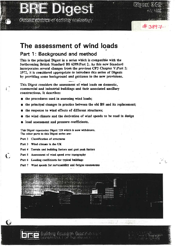 PDF) Wind loads | Cliford Chile - Academia edu