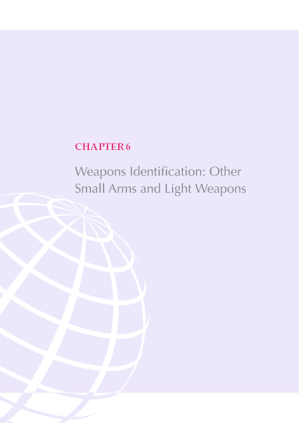 PDF) Weapons Identification: Other Small Arms and Light