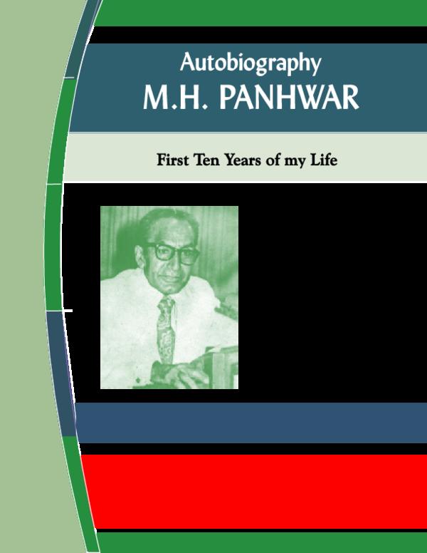 PDF) Autobiography M H Panhwar pdf | SANI PANHWAR - Academia edu