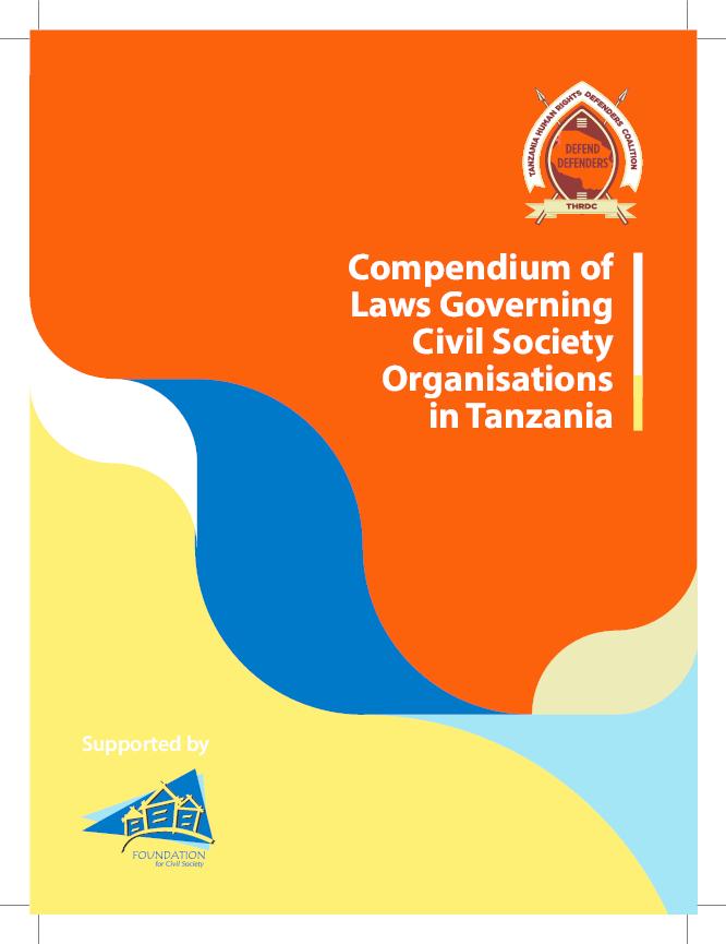 PDF) COMPENDIUM OF LAWS GOVERNING CSOs IN TANZANIA