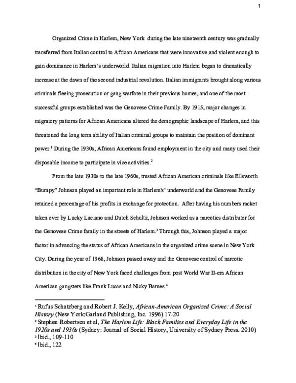 PDF) Heroin in Harlem: Frank Lucas and the Country Boys