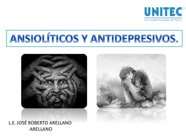 Los ansioliticos puede producir perdida de pesos