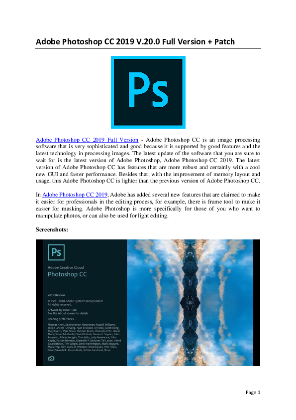 how to download & install adobe photoshop free in computer hindi