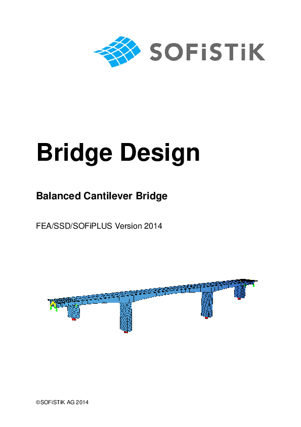PDF) Bridge Design Balanced Cantilever Bridge | Katerina