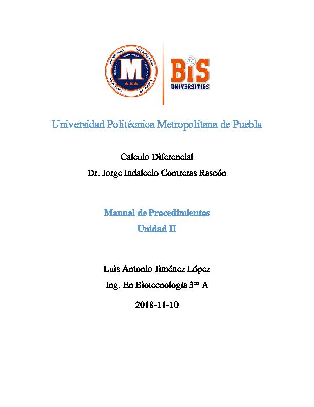 (PDF) Universidad Politecnica Metropolitana de Puebla
