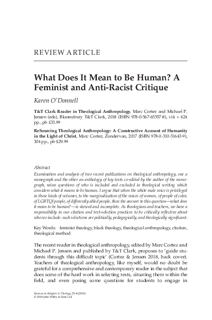 Anthropology What Does It Mean To Be Human Pdf