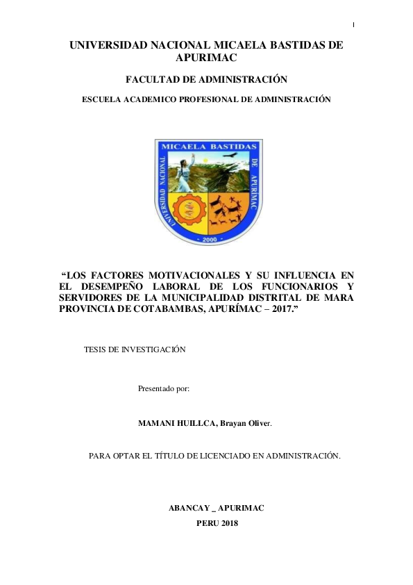 Pdf Universidad Nacional Micaela Bastidas De Apurimac