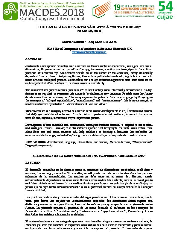 dc92e23f95 PDF) The language of sustainability: a