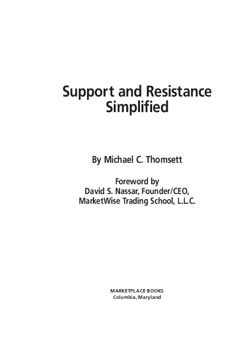 Technical Analysis Simplified By Clif Droke Pdf
