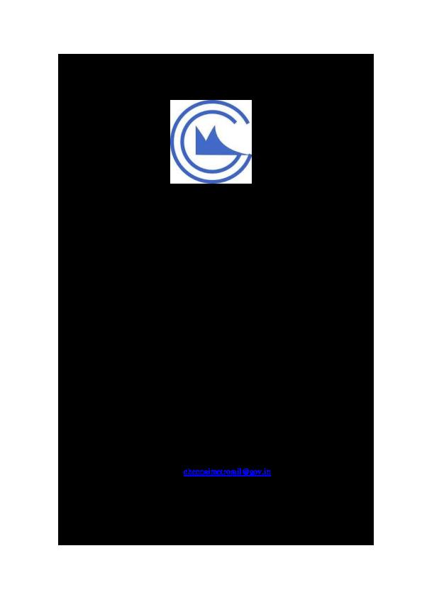 PDF) CHENNAI METRO RAIL LIMITED Chennai Metro Rail Limited   shobhan