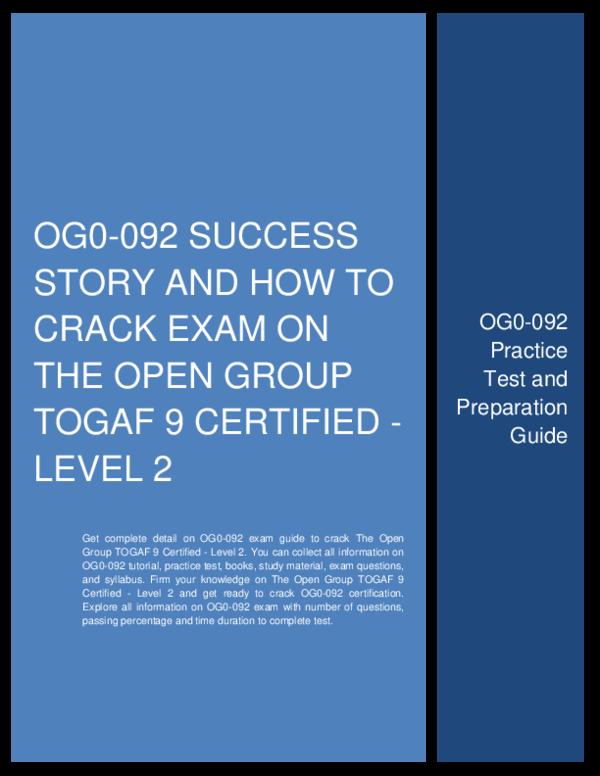 Togaf 9 Certified Study Guide Pdf