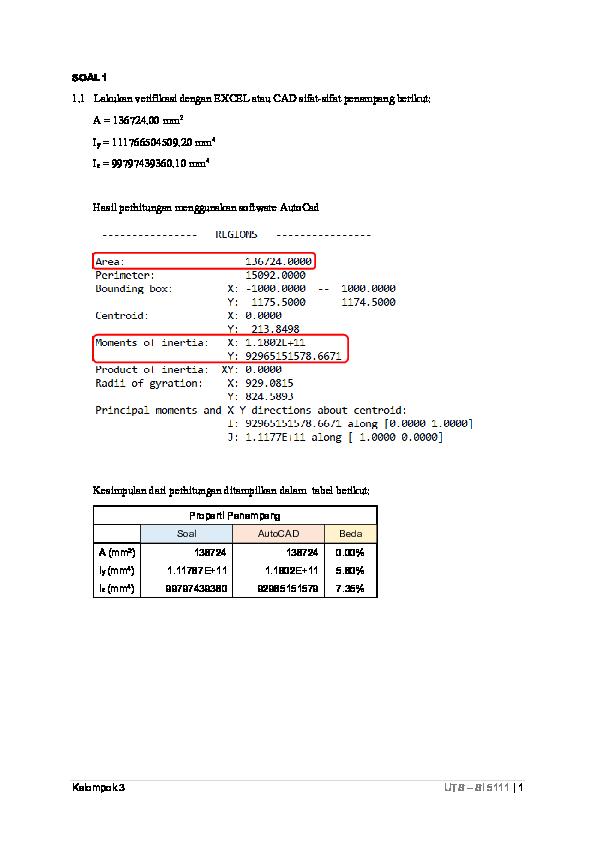 PDF) No 1 Verifikasi Properti Penampang | febra ekawindra