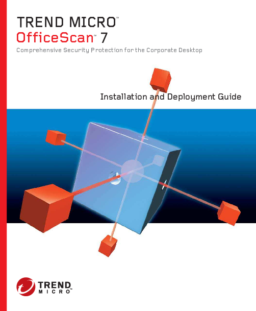 PDF) TREND MICRO TM OfficeScan TM 7 Comprehensive Security