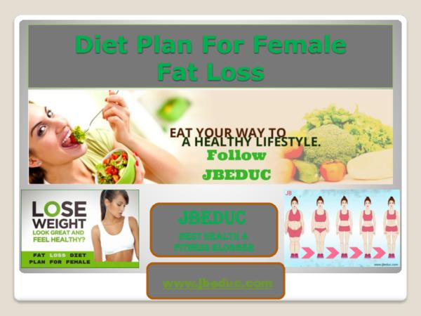 Fat loss diet for female pdf