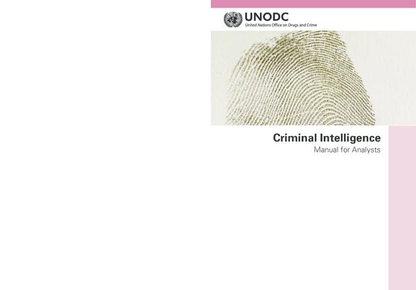 PDF) Criminal Intelligence Manual for Analysts | Bagas Manjer