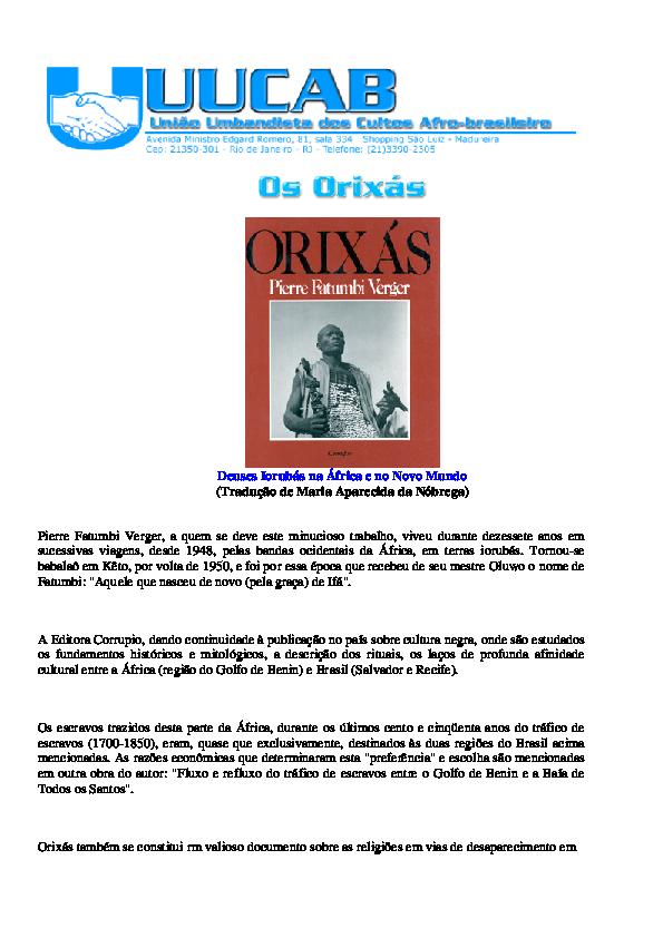 OS TODOS DE BAIXAR XIRE ORIXAS MUSICA