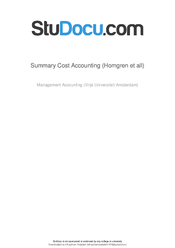 PDF) summary-cost-accounting-horngren-et-all.pdf   Elhaytham ...