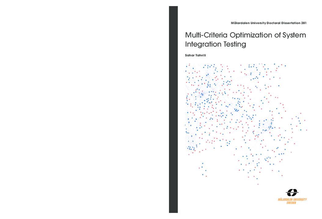 PDF) Multi-Criteria Optimization of System Integration