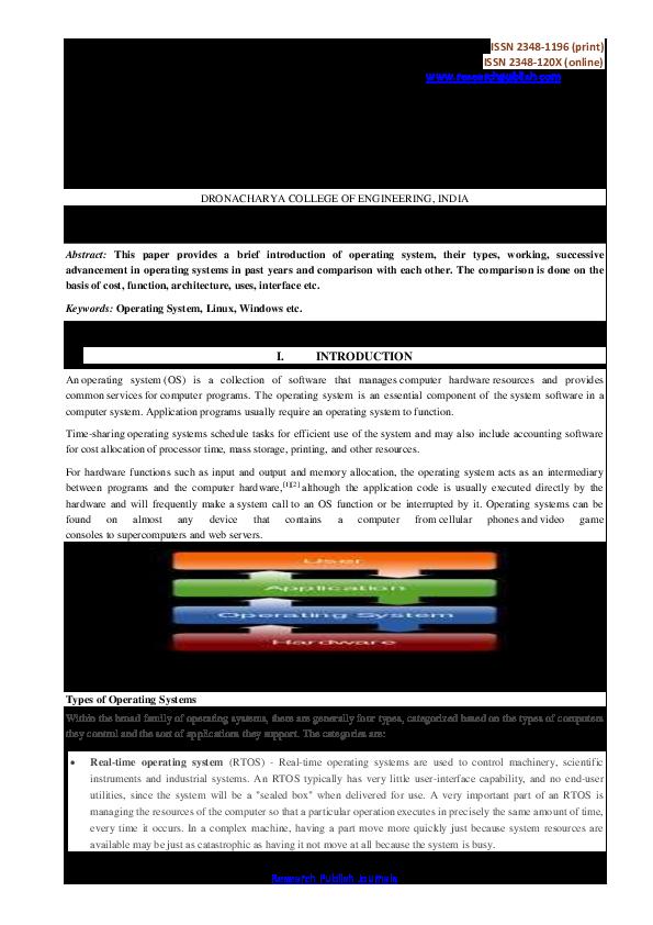 PDF) Operating System | Ubaidillah Ahmad - Academia edu