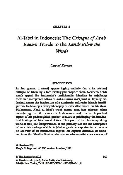 Pergolakan Pemikiran Islam Pdf