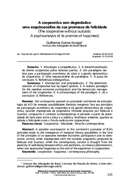 pdf) cooperativa sem degradados uma esquizoanálise de sua promessa(pdf) cooperativa sem degradados uma esquizoanálise de sua promessa de felicidade guilherme krueger academia edu