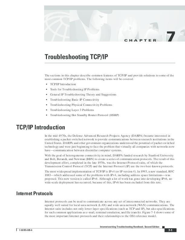 PDF) TCP/IP Introduction | john livingston - Academia edu