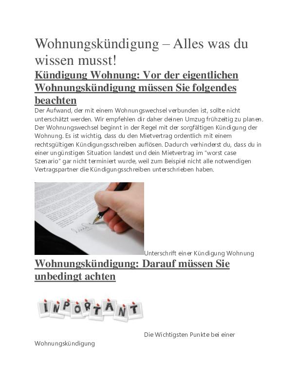 Pdf Wohnung Kundigen Anleitung Anto Brco Academia Edu