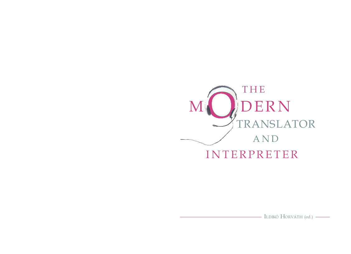 PDF) HorvathTheModernTranslator.pdf | Ildik Horvth - Academia.edu