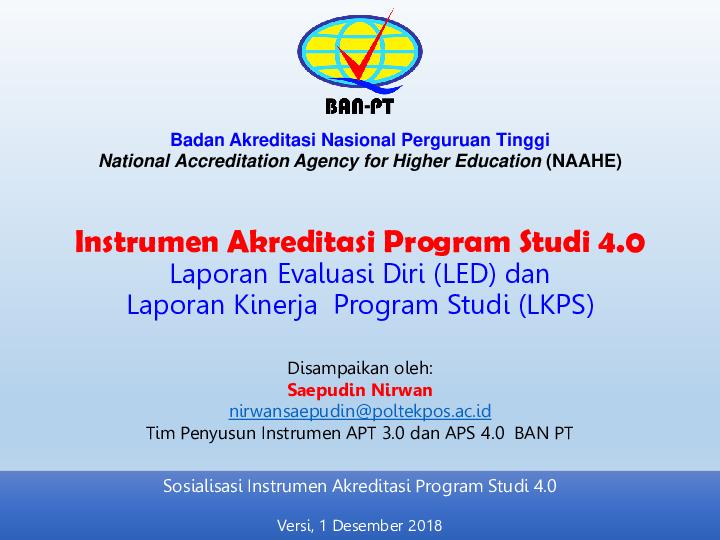Borang Akreditasi 9 Kriteria Pdf