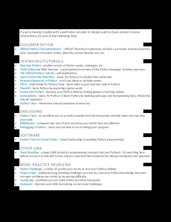 PDF) Additional Python Resources | Zhiyang Deng - Academia edu