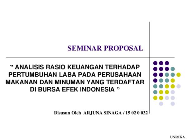 Ppt Seminar Proposal 1 Arjuna Sinaga Academia Edu