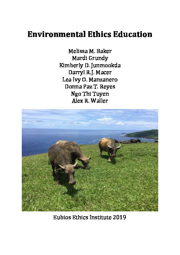 PDF) Environment Ethics Education.pdf | Lea Ivy Manzanero ...