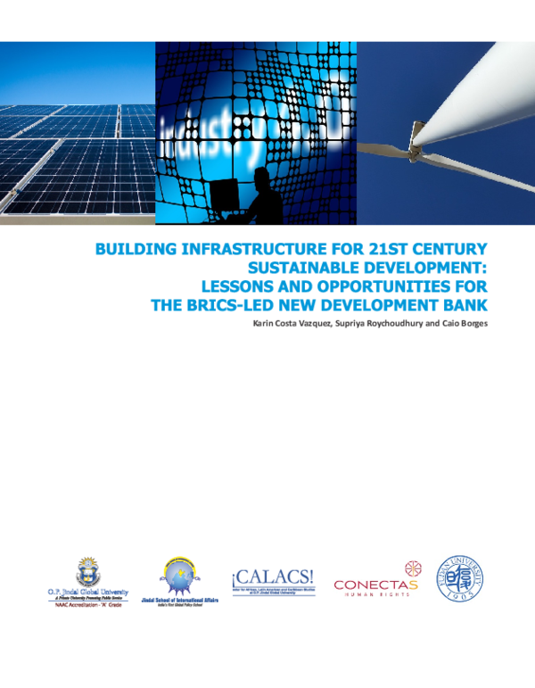 PDF) Building Infrastructure for 21st Century Sustainable