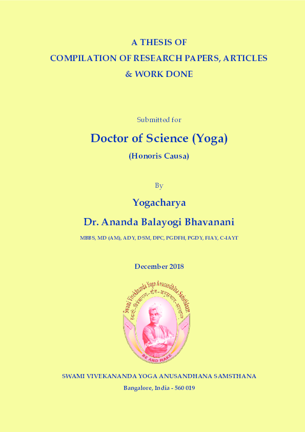 PDF) A THESIS OF COMPILATION OF RESEARCH PAPERS, ARTICLES