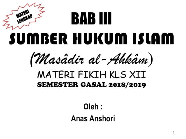 Ppt Sumber Hukum Islam Muttafaq Disepakati Hadis Pptx Anshori Kafabihii Academia Edu